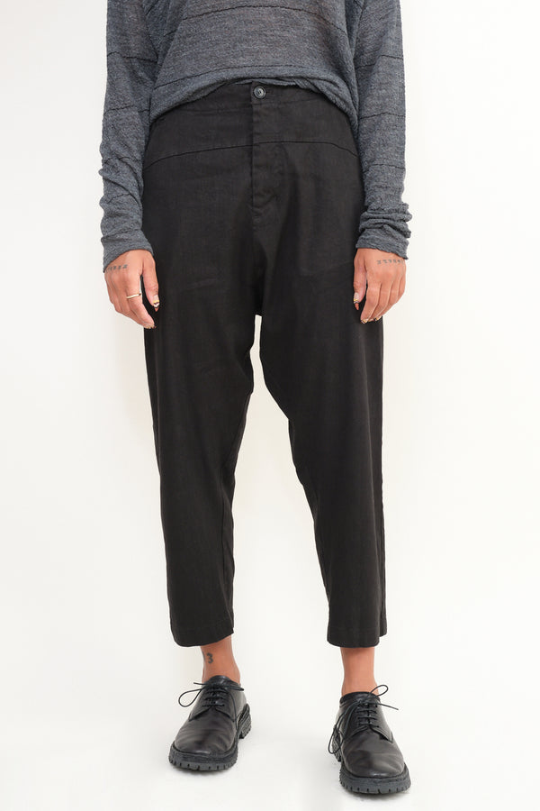 pas de calais drop crotch trouser