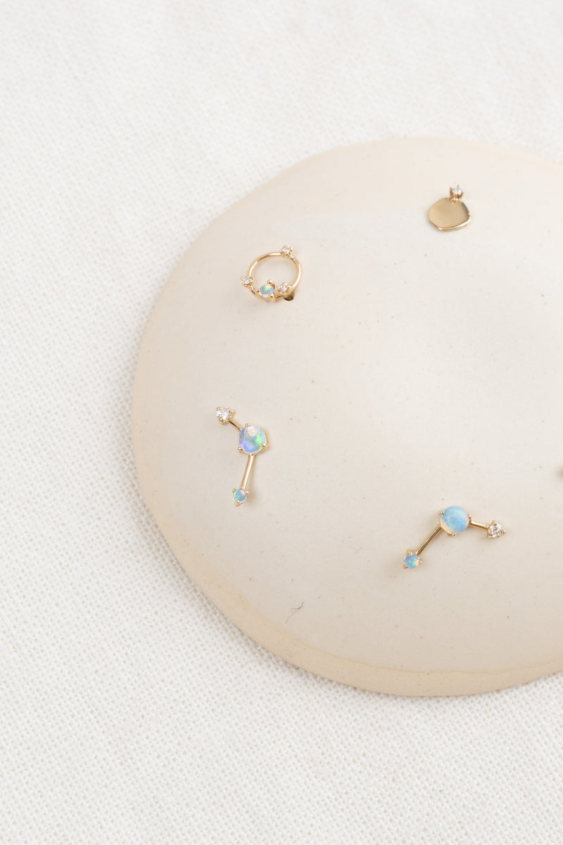 Women's Opal Earrings