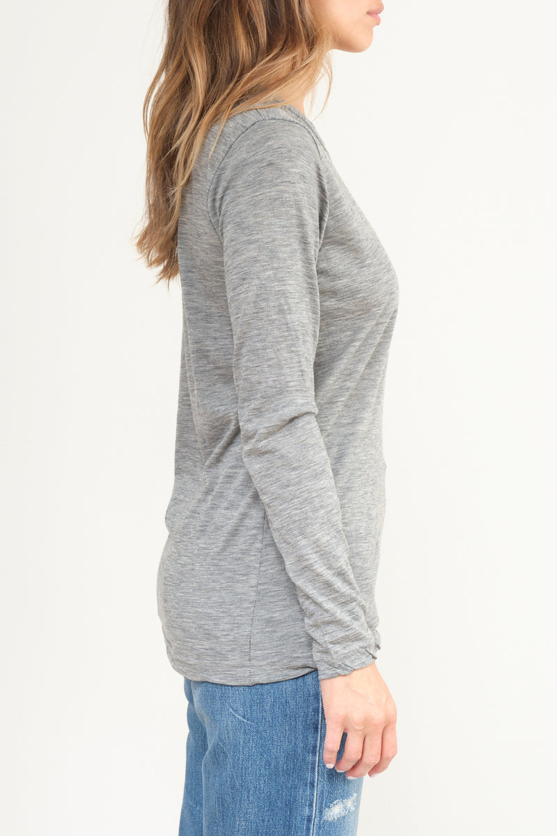 P-261 Hand Washed Cashmere T-Shirt private