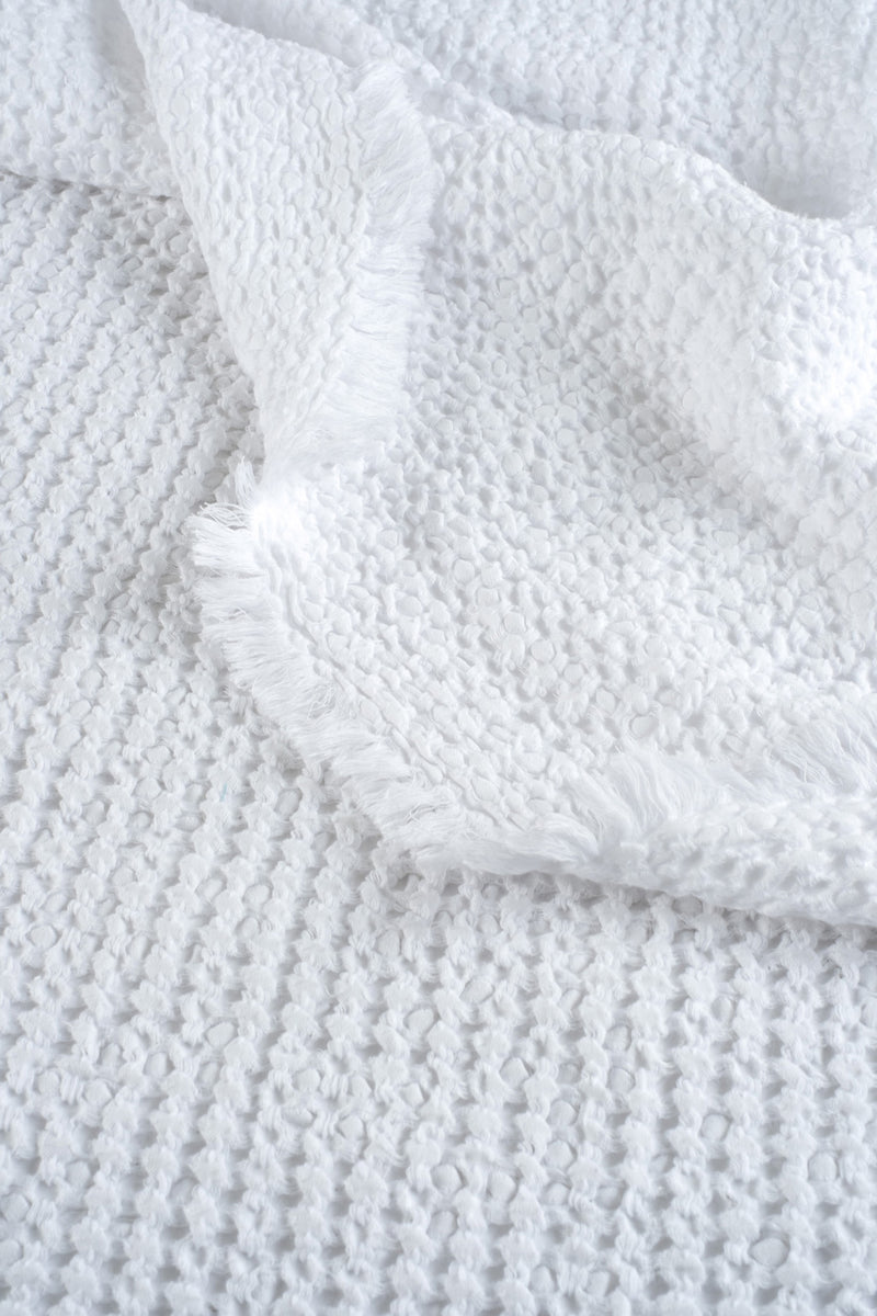 Soft White Blanket