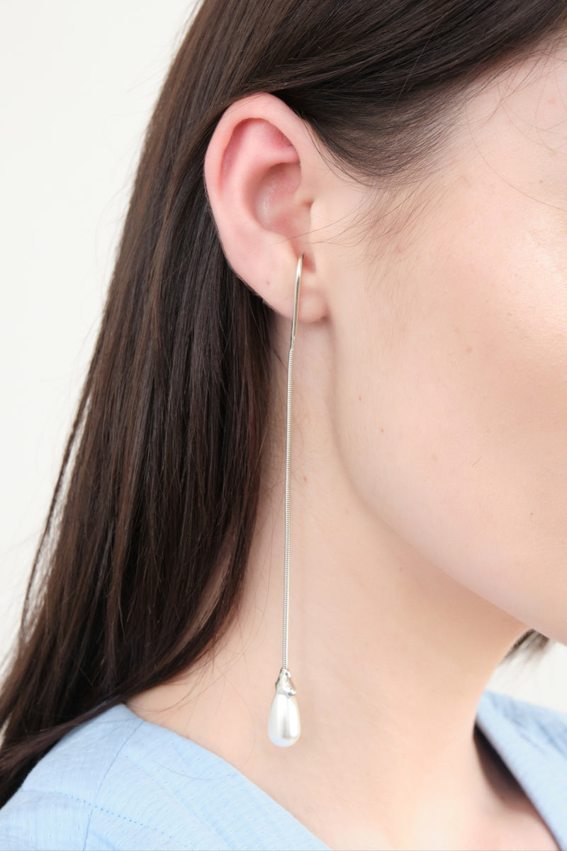 Sophie Buhai Long Snake Earrings