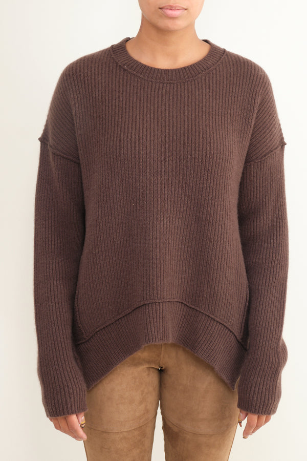 thick ribbed cashmere sweater Kristensen du Nord