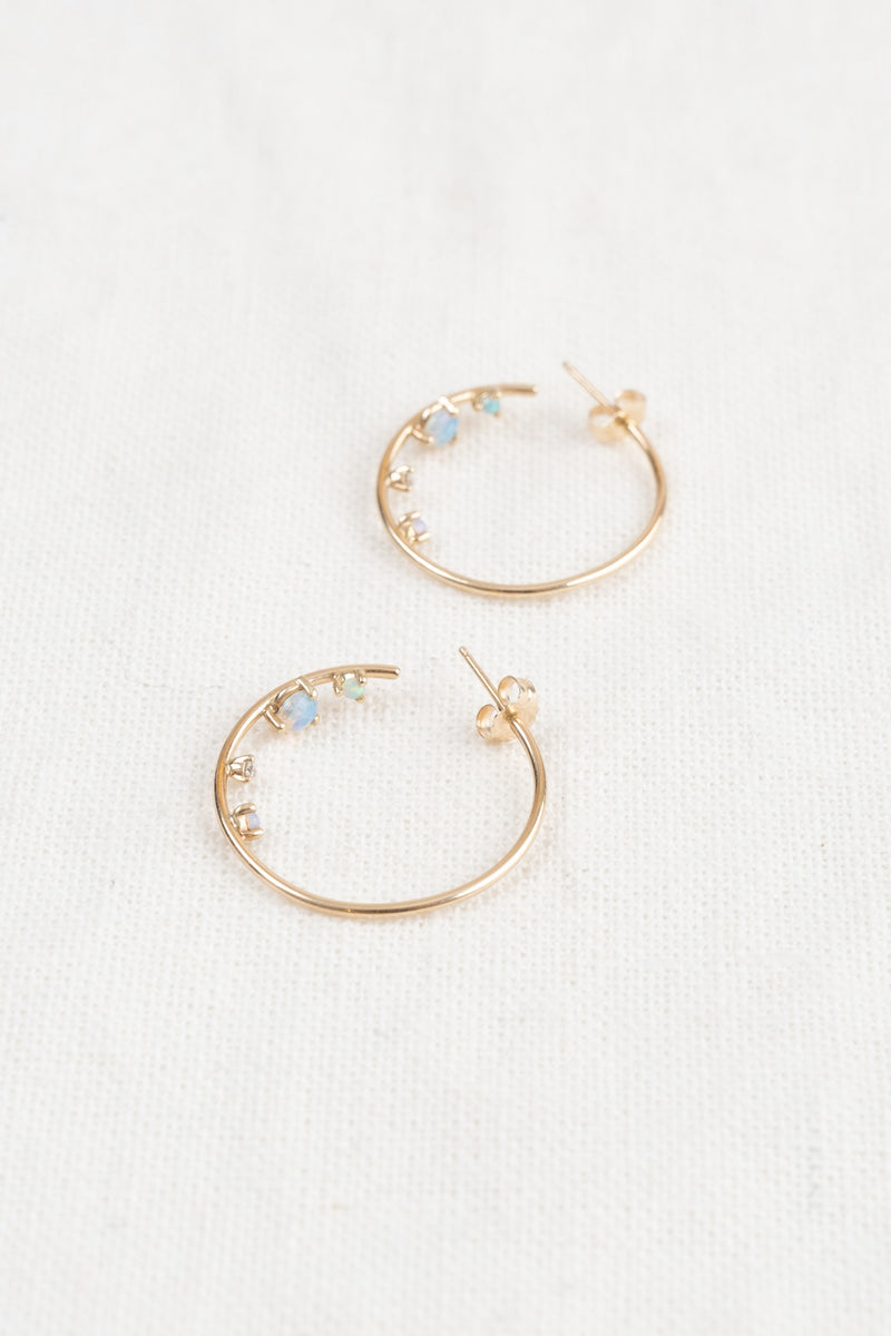 Women's Gold Hoops
