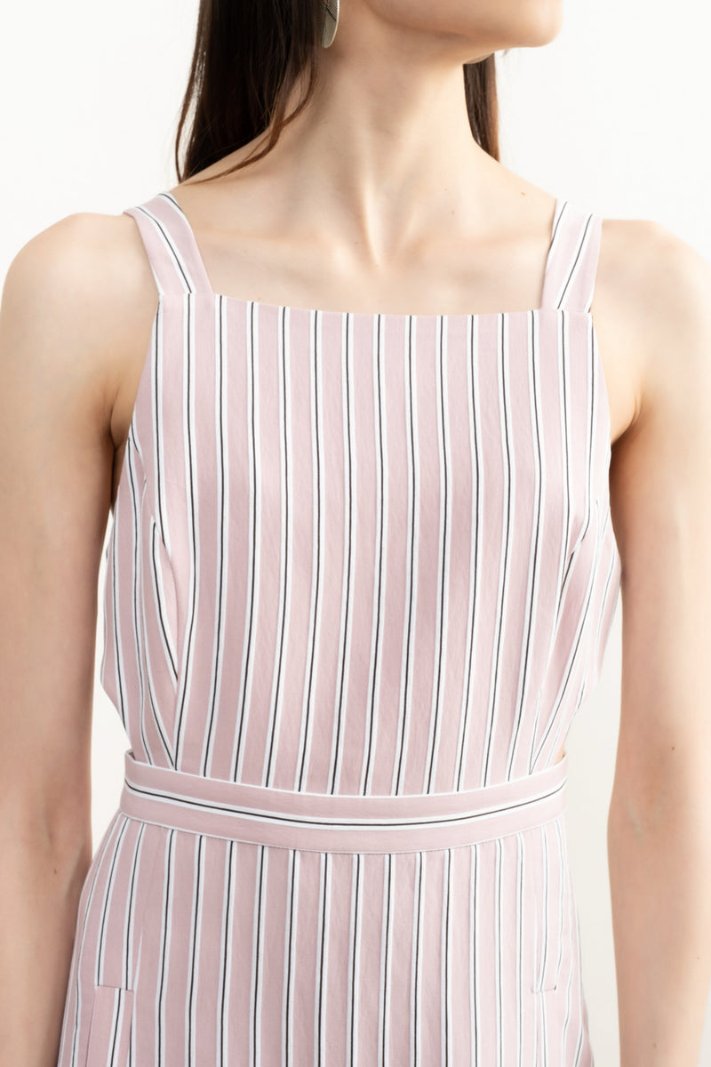 Women's Striped Summer Dress