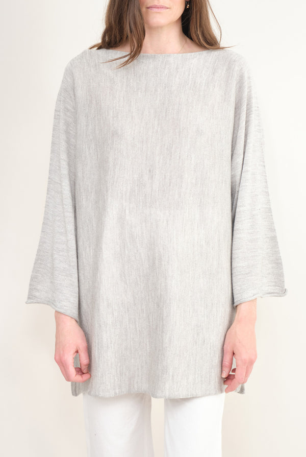 Lauren Manoogian Horizontal Tunic Light Grey