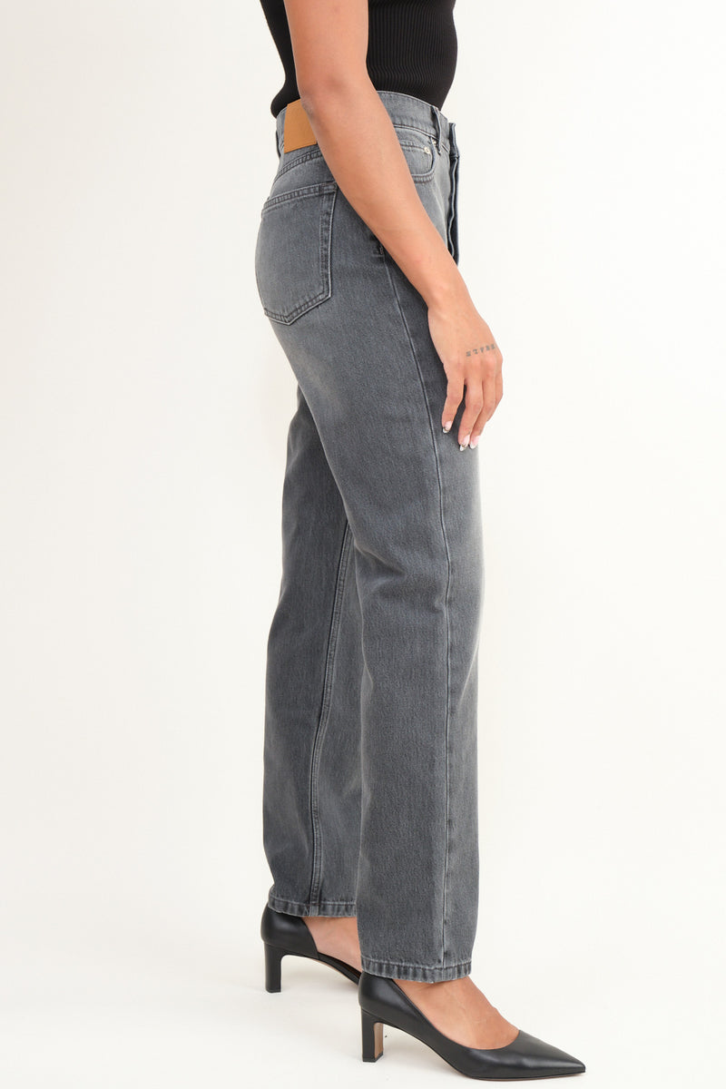 kemia washed denim Nanushka