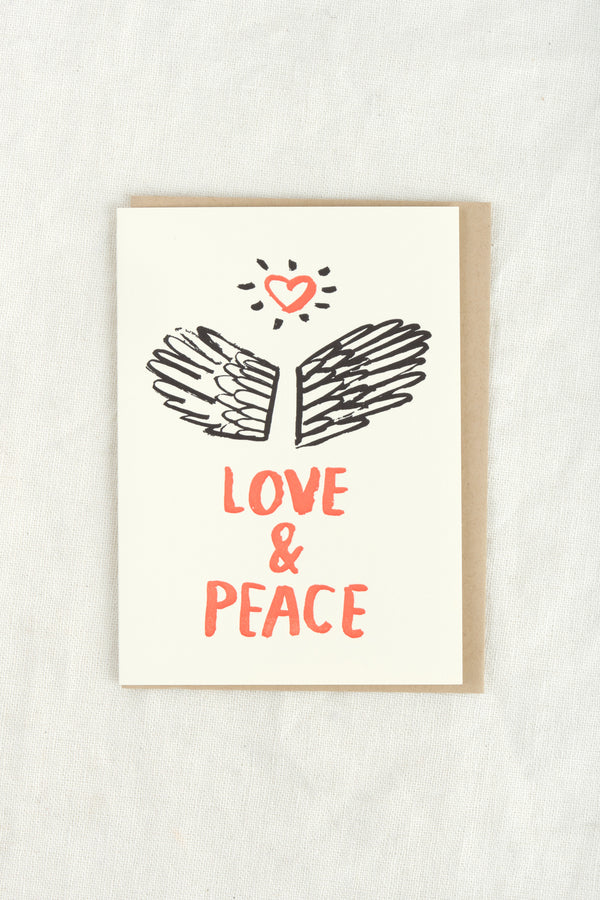 People I've Loved Love and Peace Card