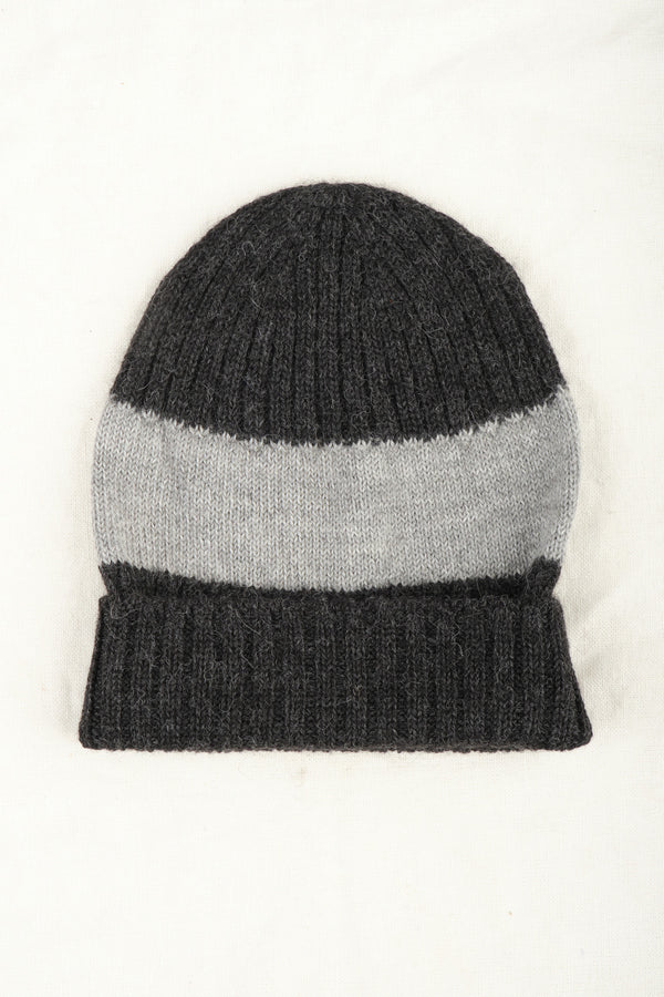 Mature Ha Knit Cap Charcoal