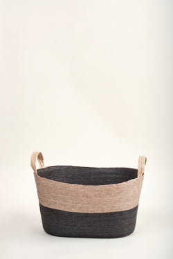makaua carbon Oval Floor Basket
