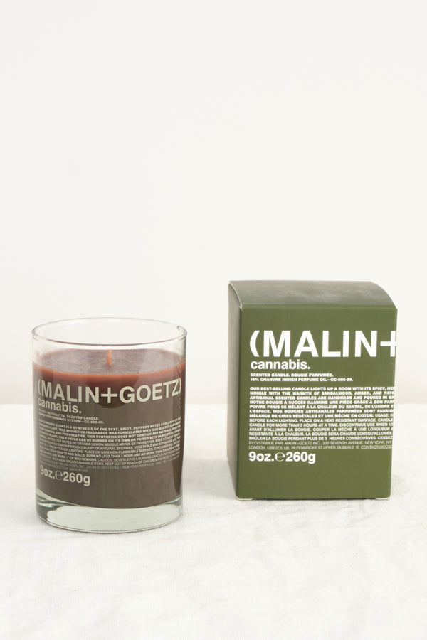 Malin + Goetz Cannabis Candle 9oz