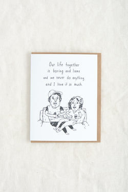 Mountain vs Plains Our Life Together Card