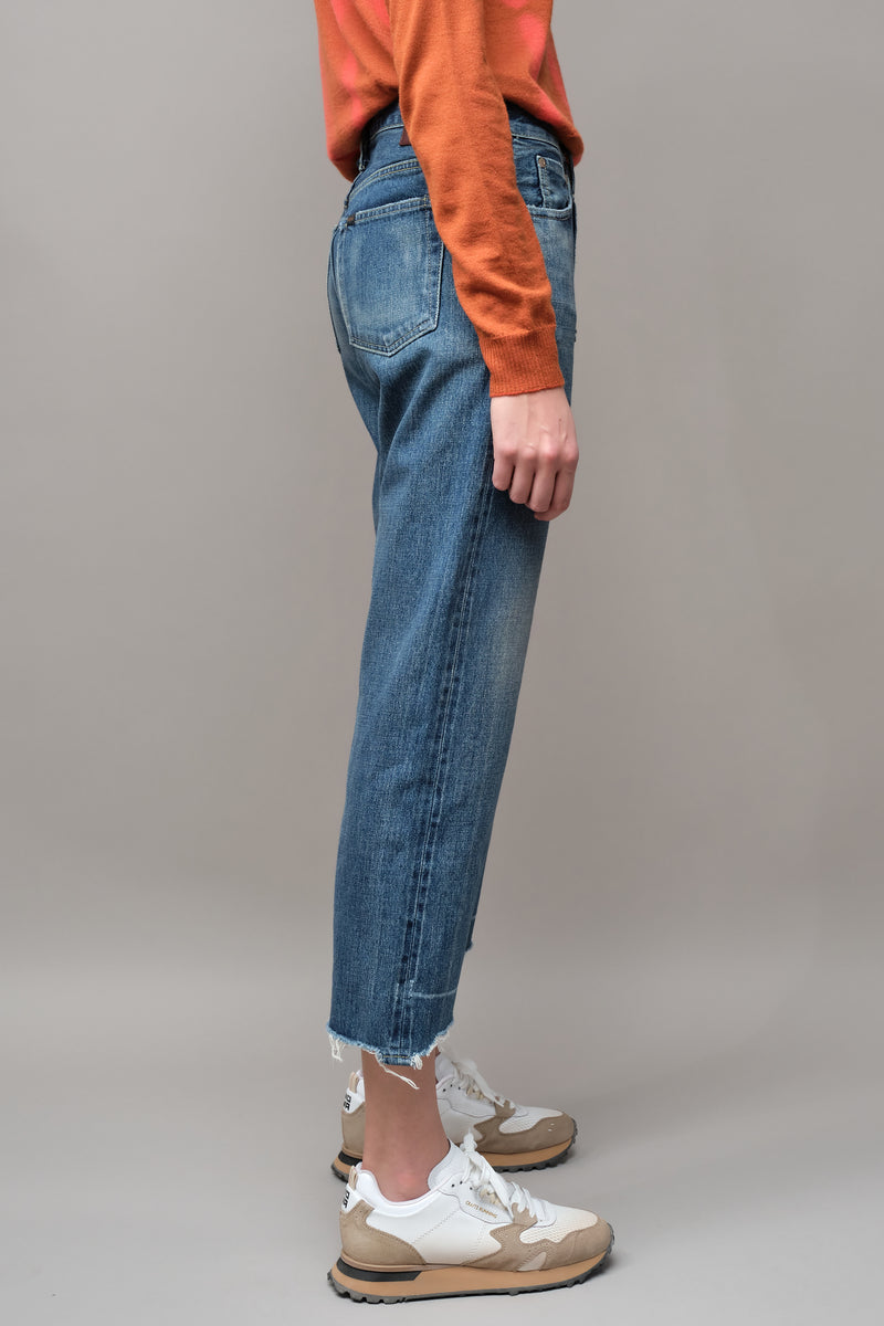 light distressed chimala jeans