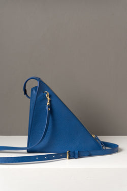 Lotuff Triangle Bag In Electric Blue