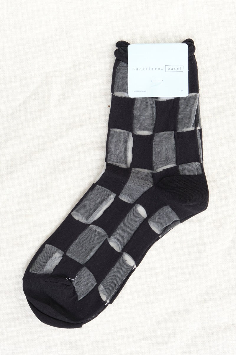 Hansel From Basel Berlin Sheer Short Crew Socks