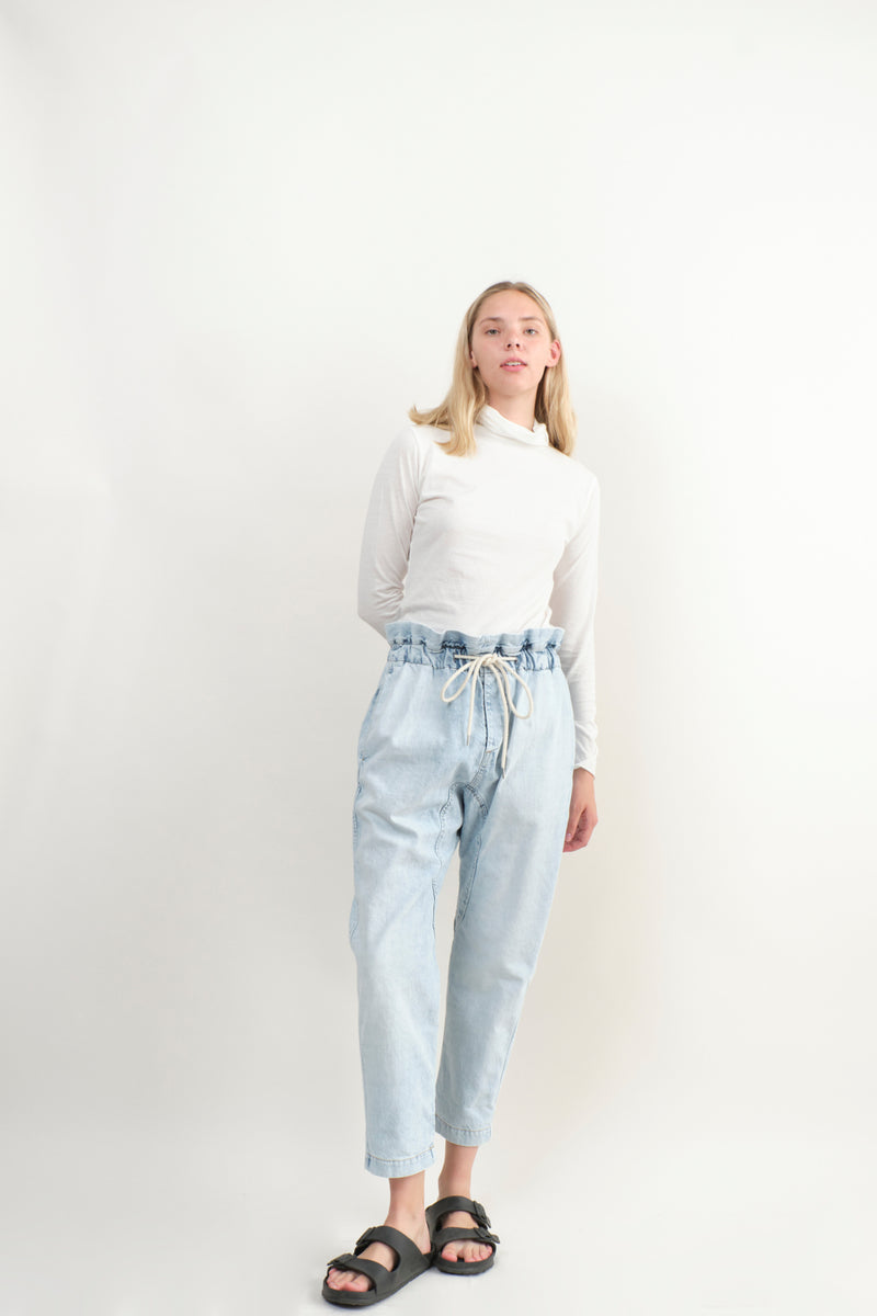 Evam Eva C & S Turtleneck In Off White