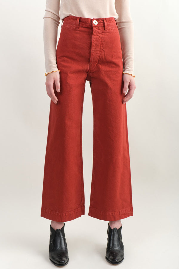Sailor Pant In Iron Oxide Jesse Kamm