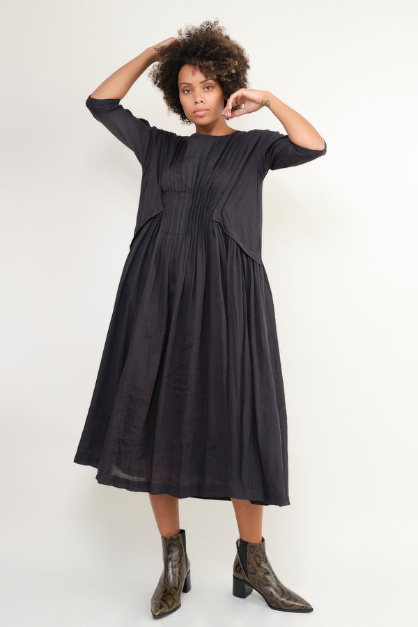 pas de calais black dress