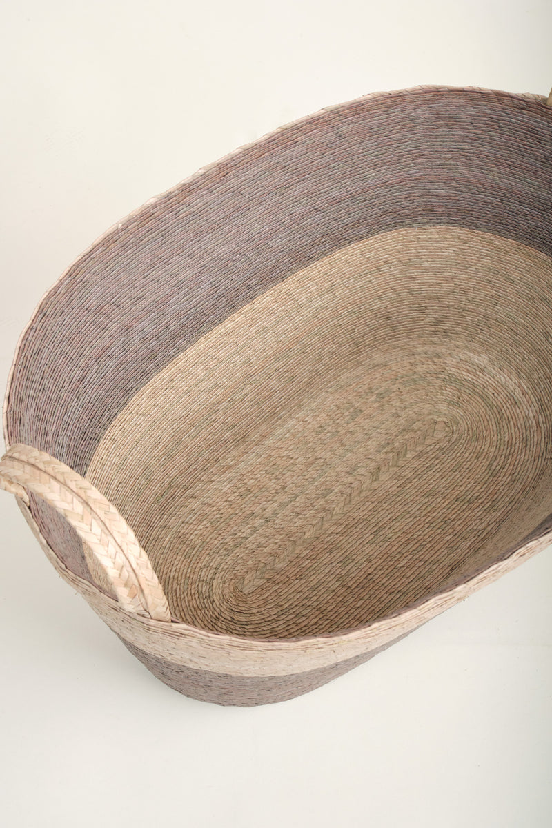Natural fiber baskets Makaua