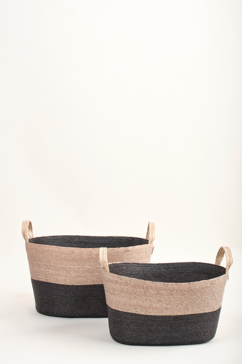 Makaua Oval Floor Basket