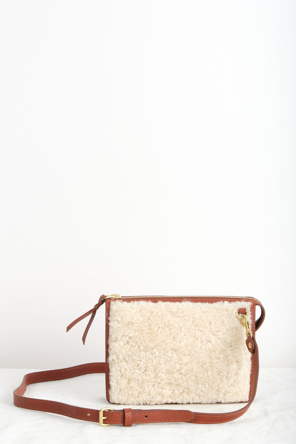 Lotuff The Tripp Shearling Saddle Tan