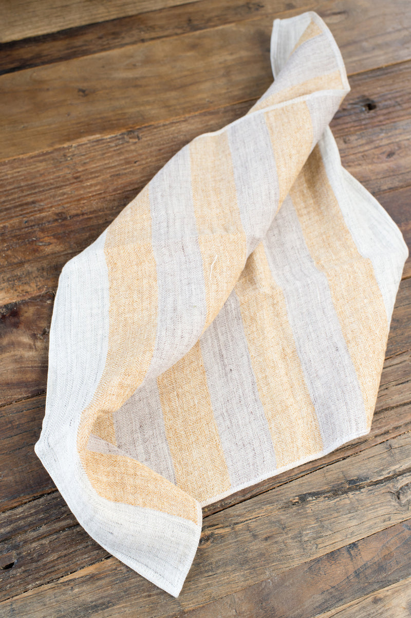 linen and cotton towels