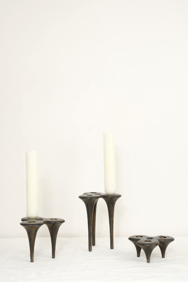 dbO Home bronze stake candle stick