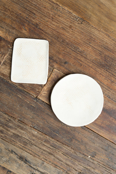 honeycomb curve soap dish dbo home