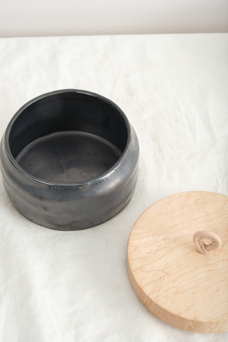 Dbo Home Bare Lidded Vessel