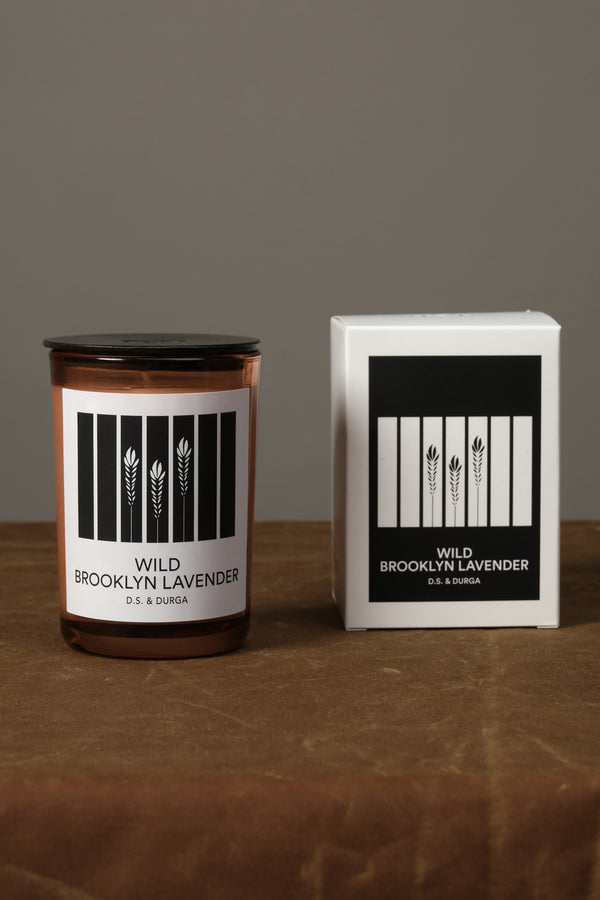 Wild Brooklyn Lavender Candle DS and Durga