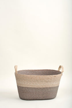 Makaua Acero Large Oval Floor Basket