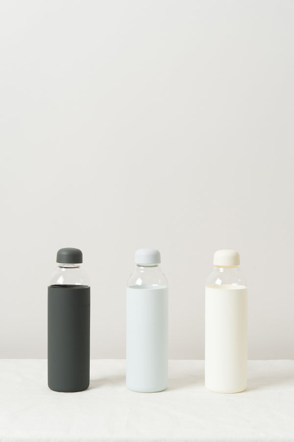 W & P Design Porter Water Bottle In cream