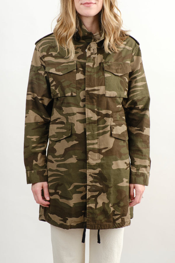 VIS A VIS Field Jacket Green Camo