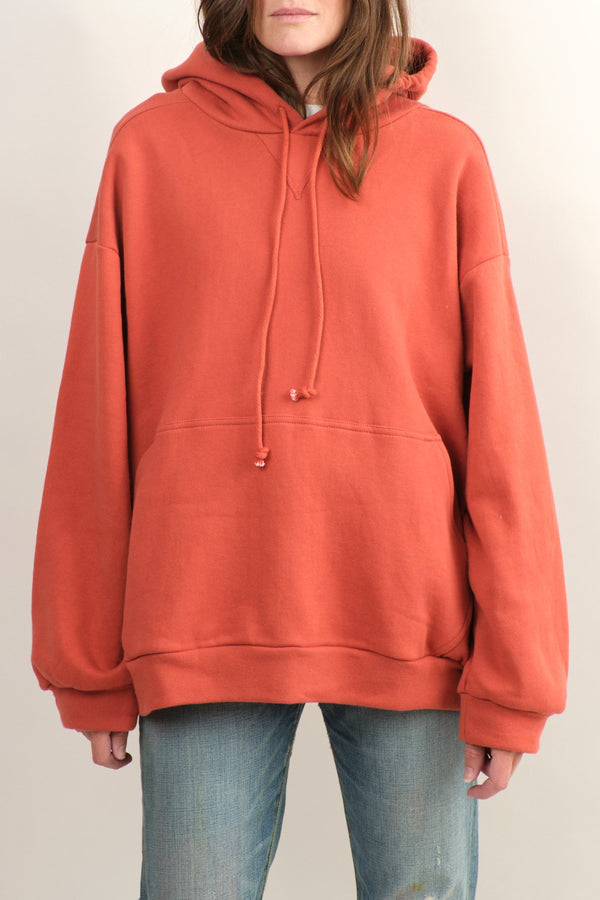 No. 6 Clothing Anderson Hoodie Rust