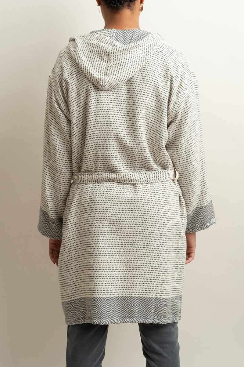 Saarde Karadeniz Bathrobe Turkish Cotton