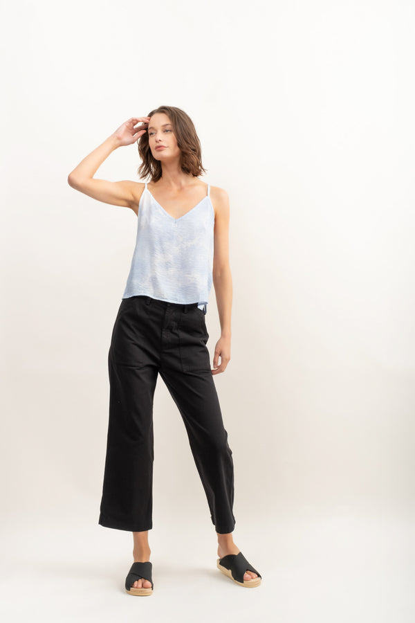 Lacausa Brushed Stella Trousers In Latar