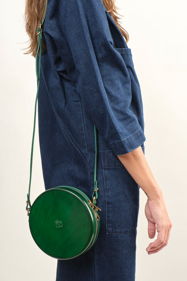 Il Bisonte Circle Crossbody Bag