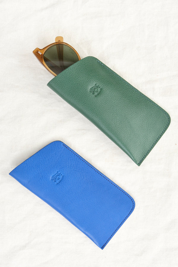 Il Bisonte Leather Glasses Case