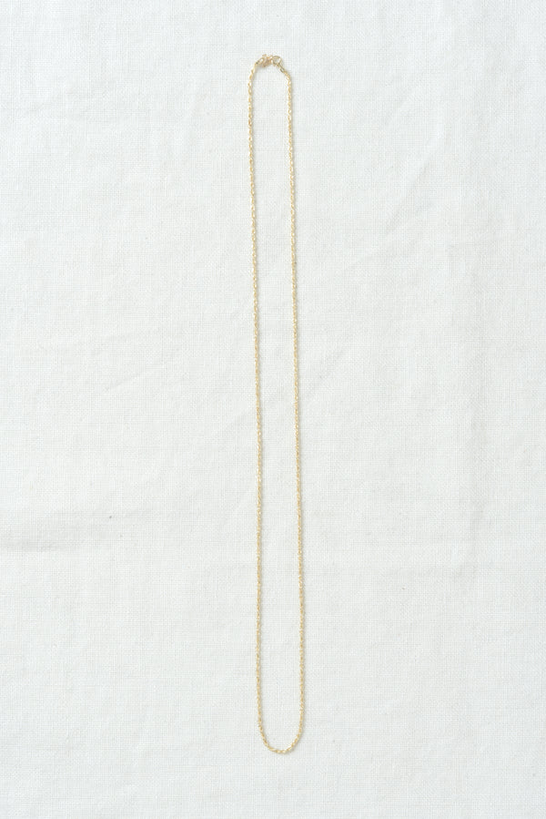Gold Rope Chain Necklace Loren Stewart