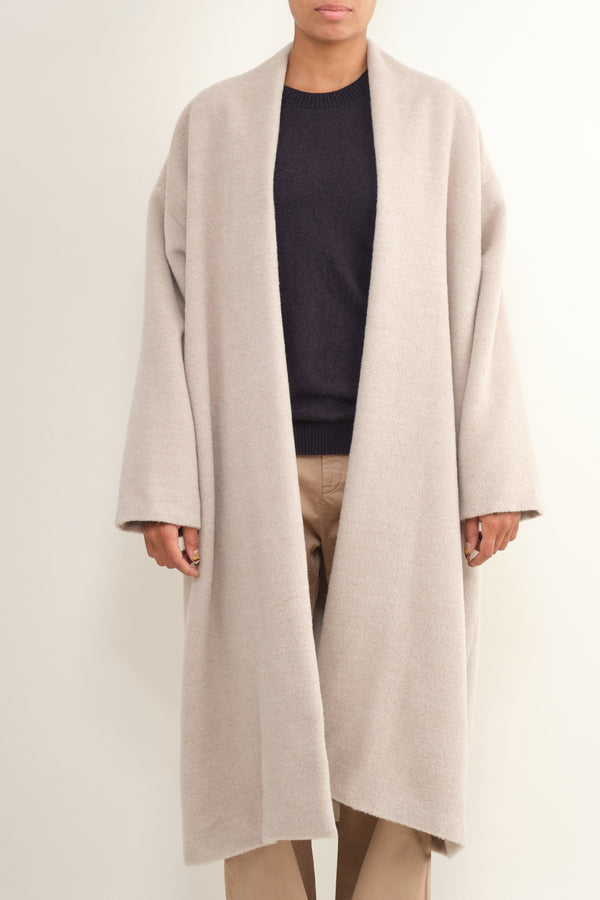Bushed Shawl Coat Lauren Manoogian