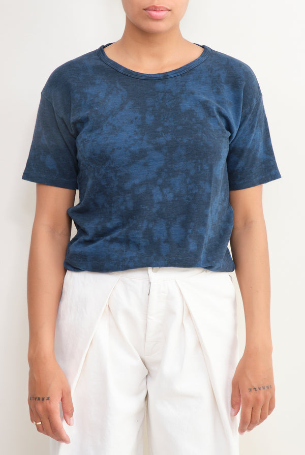 scoop neck tie dye tee amo denim