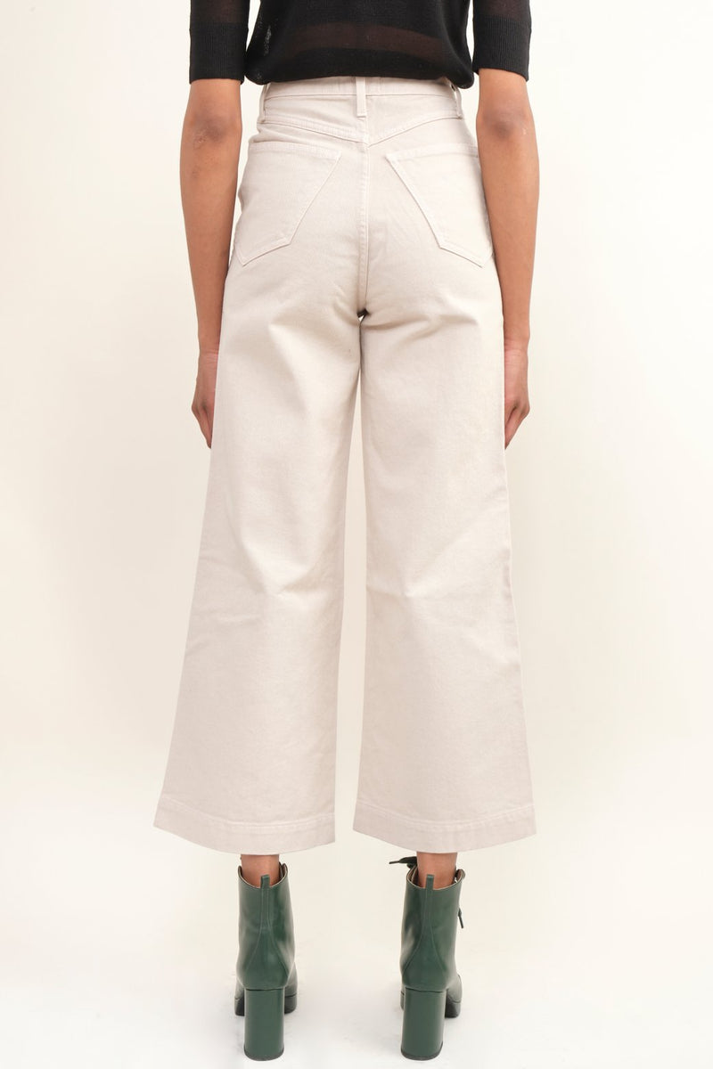 Nanushka Ramos Wide Leg Denim