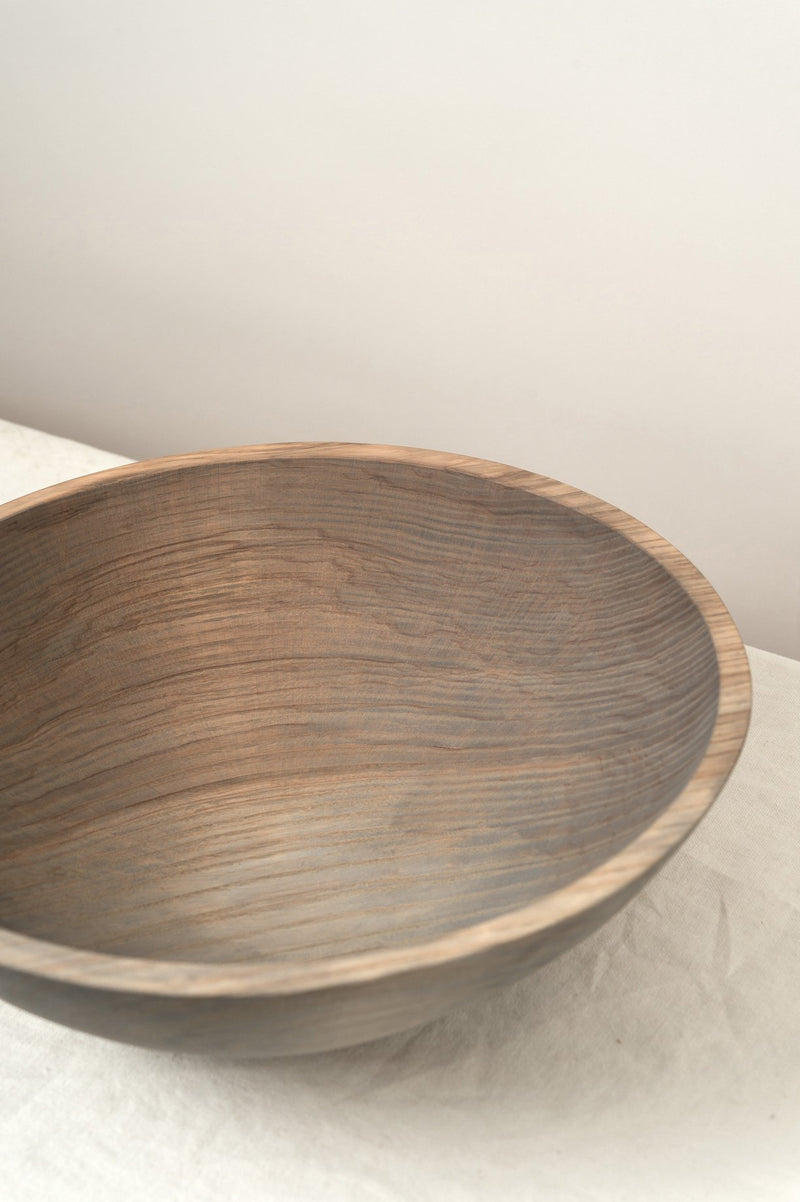 "Farmhouse Pottery 12"" Craft Wooden Bowl"