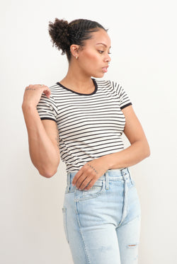 Amo Denim fitted baby tee
