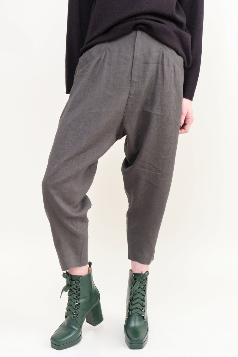 pas de calais Tapered Trouser Grey