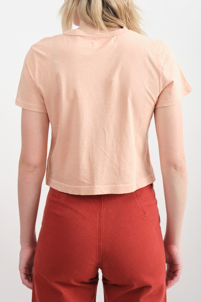 Lacausa Foster Tee Cropped