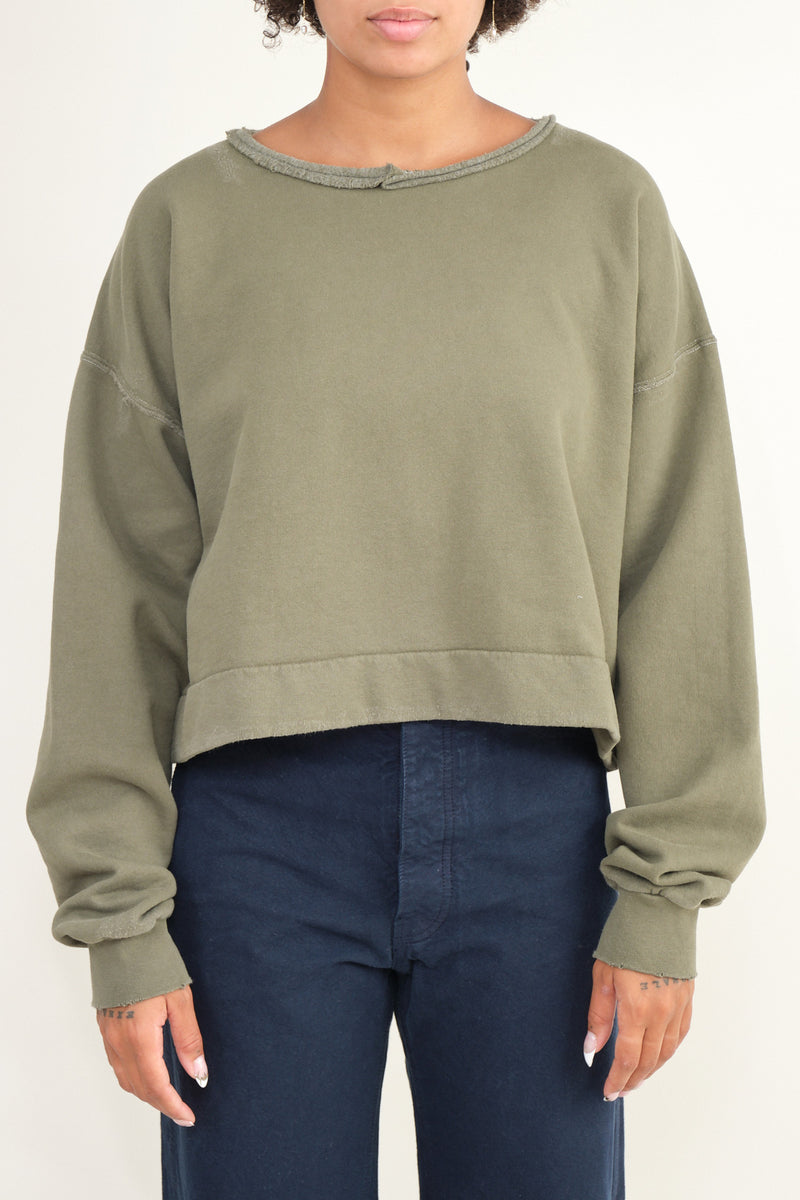 Mingle sweatshirt olive rachel comey