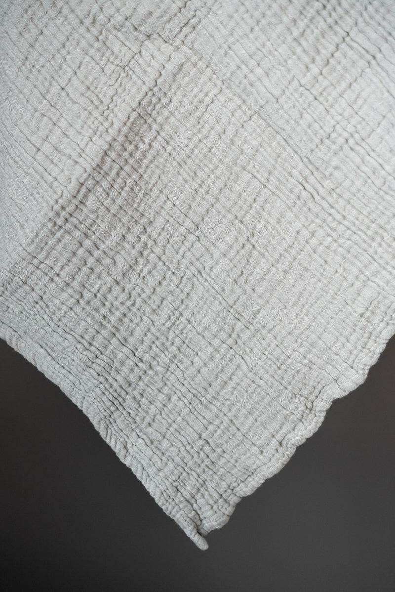 Saarde Enes Crinkle Baby Blanket Turkish Cotton