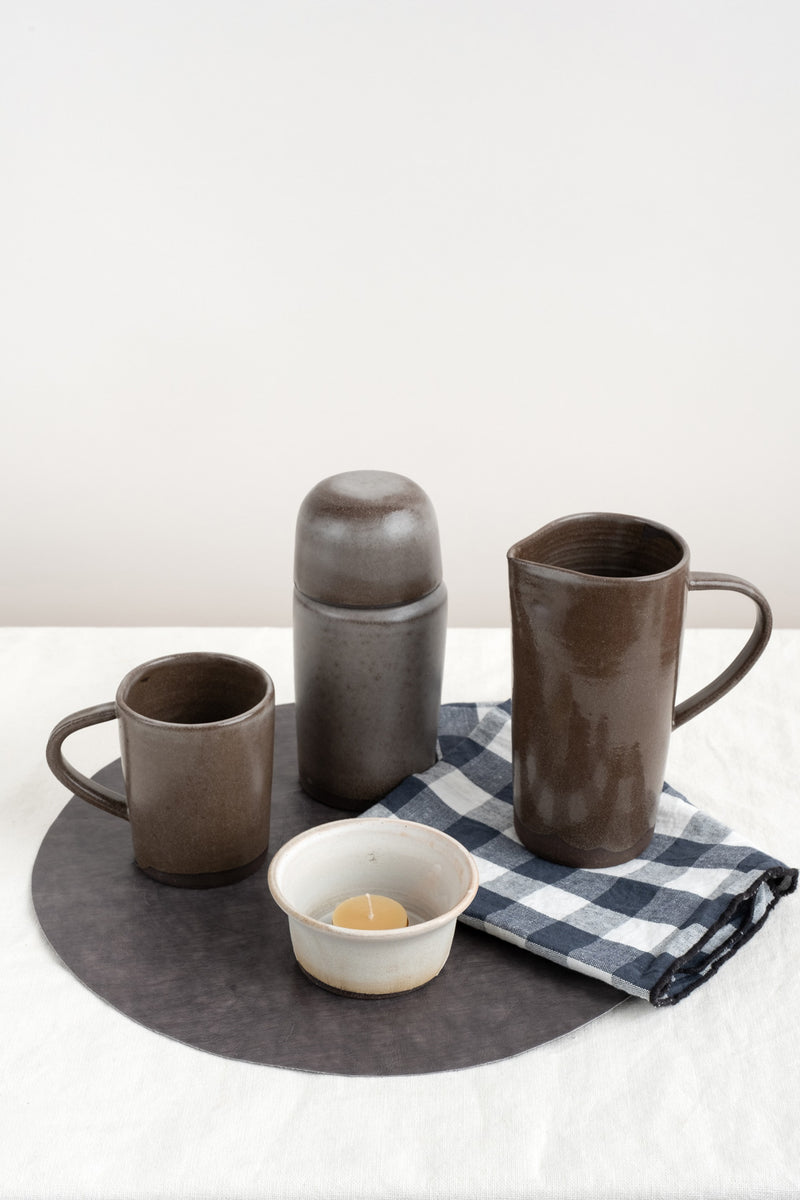 Notary Ceramics Carafe and Cup Lid