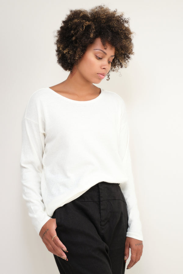 pas de calais cotton pullover top