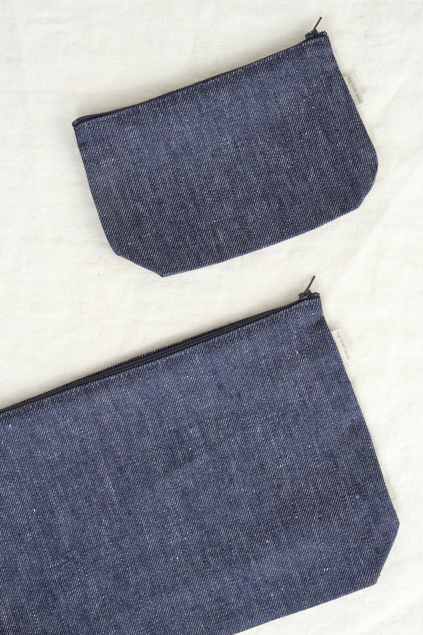 Fog Linen Work medium romy pouch